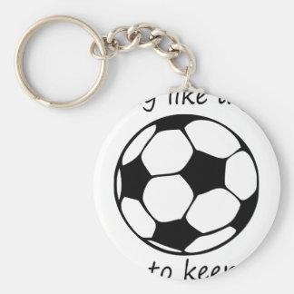 play like a girl3 key ring