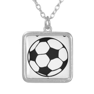 play like a girl3 silver plated necklace