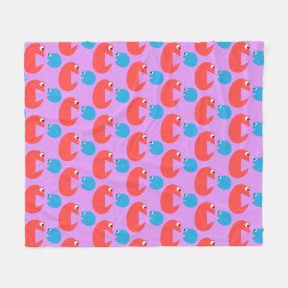 Play Mates Play Button Cartoon Movie Fleece Blanket