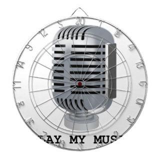 PLAY MY MUSIC DARTBOARD