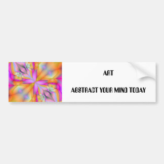 Play On Fractal 2, ARTABSTRACT YOUR MIND TODAY Bumper Sticker