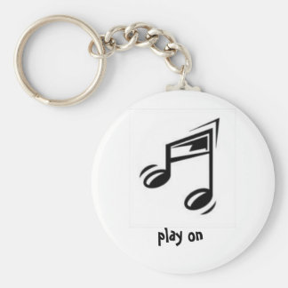 play on keychain