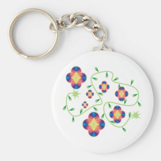 Play Outdoors Products - for Health & Fun Basic Round Button Key Ring