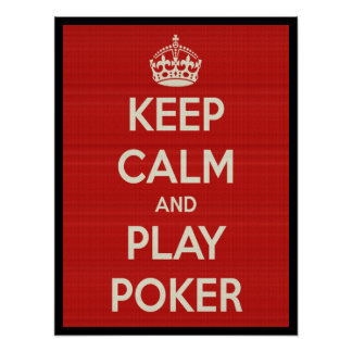 Play Poker Poster