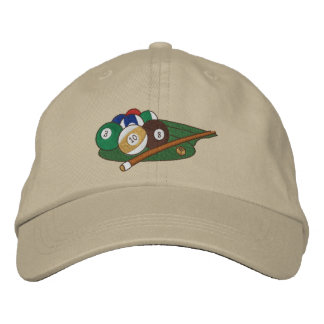 Play Pool Embroidered Hat