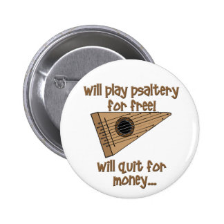 Play Psaltery For Free 6 Cm Round Badge