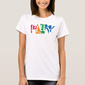 """PLaY"" Shirt for Pediatric OT's"