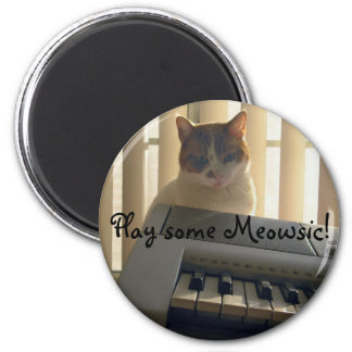Play some Meowsic! Magnet