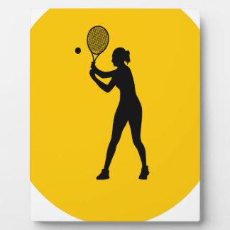 Play Tennis Day - Appreciation Day Plaque