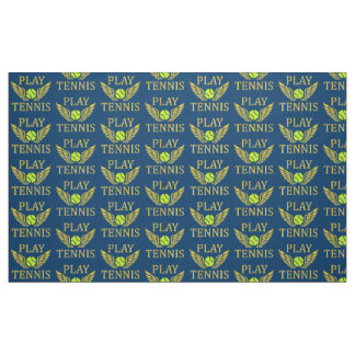 Play tennis fabric