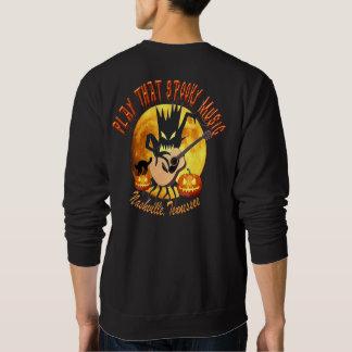 Play That Spooky Music Nashville Men's Sweatshirts