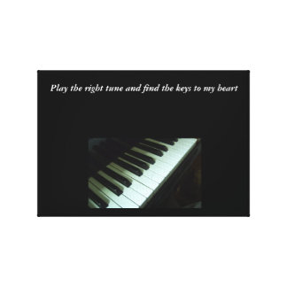 Play The Right Tune Canvas