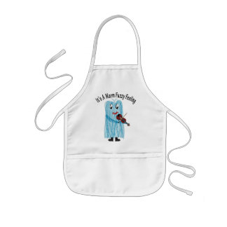 Play the Violin - Get a warm Fuzzy Feeling! Kids Apron