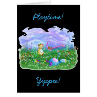 Play Time! Greeting Card