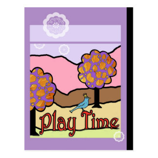 Play Time Postcard