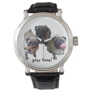 Play time! wrist watches