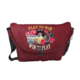 Play To Win Messenger Bag
