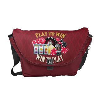 Play To Win Messenger Bag