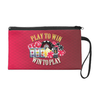 Play To Win Wristlets Bag