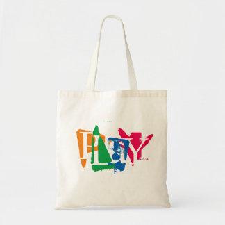 """""""PLaY"""" Tote Bag"""