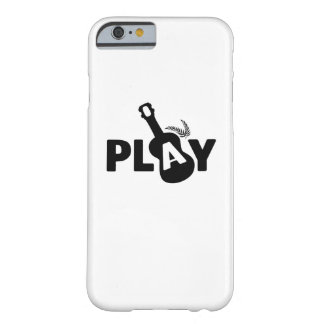Play Ukulele Uke Music Lover Gift Funny Barely There iPhone 6 Case