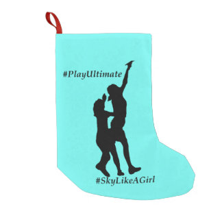 Play Ultimate, Sky like a girl Small Christmas Stocking