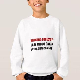 Play Video Games Sleep Sweatshirt