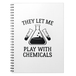 Play With Chemicals Notebook