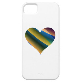 Play WIth Colours Love Heart iPhone 5 Case