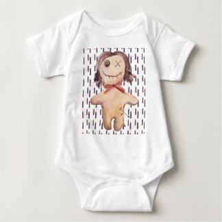 """Play with Dolls"" Voodoo doll kids bodysuit! Nola Baby Bodysuit"