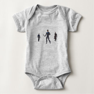 play with heroes baby bodysuit
