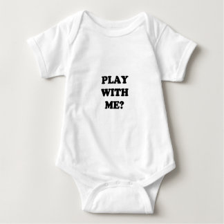 PLAY WITH ME BABY BODYSUIT