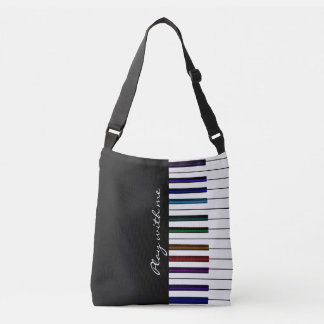 Play With Me Colourful Piano Keyboard Music Bag