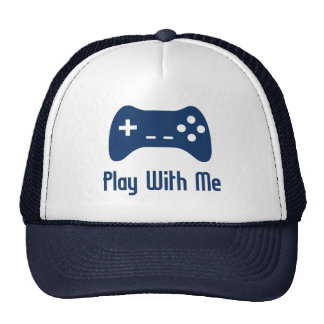 Play With Me Video Game Cap
