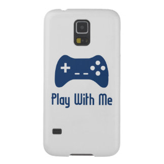 Play With Me Video Game Galaxy S5 Cases
