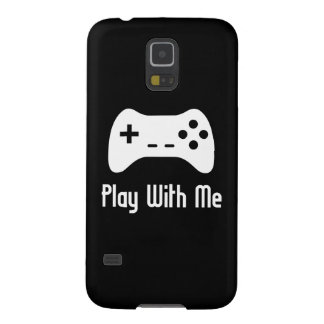 Play With Me Video Game Galaxy S5 Covers
