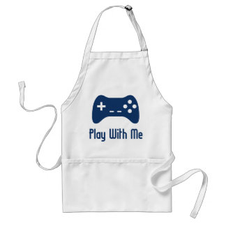 Play With Me Video Game Standard Apron