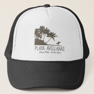 Playa Avellanas Costa Rica Surfing Surfer Trucker Hat