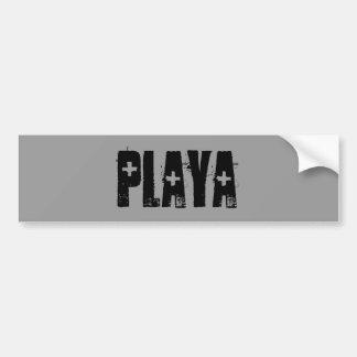 Playa Bumper Sticker
