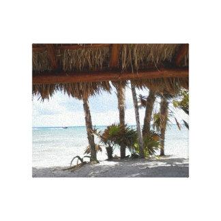 Playa del Carmen Canvas Print