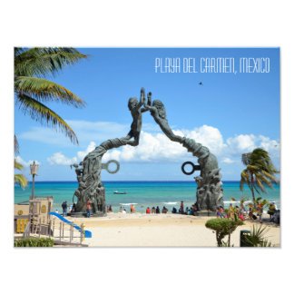 Playa del Carmen Riviera Maya Mexico Travel Photo Print