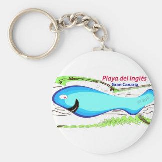 Playa del Ingles Gran Canaria Key Ring