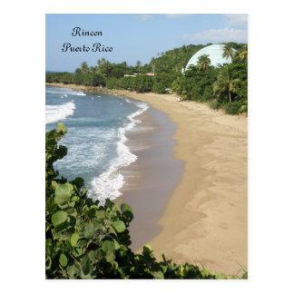 Playa en Rincon Puerto Rico Postcard