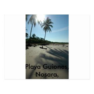 Playa Guiones Postcard