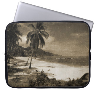 Playa Los Caballos Antique Laptop Sleeve