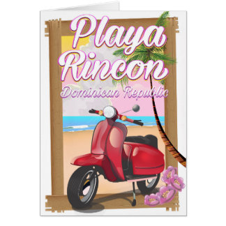 Playa Rincon Dominican Republic Card