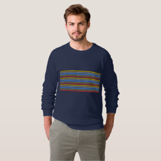 Playbow / Men's American Apparel Raglan Sweatshirt
