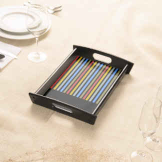 Playbow / Small Serving Tray, Black Serving Tray