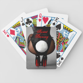 Playboy Bunny Girl with Tail - Playing Cards
