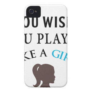 Played Like A Gilr iPhone 4 Case-Mate Case